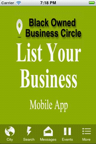 Black Owned Business Circle BO