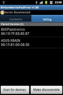 Bluetooth Handwrite Pad Free- screenshot thumbnail
