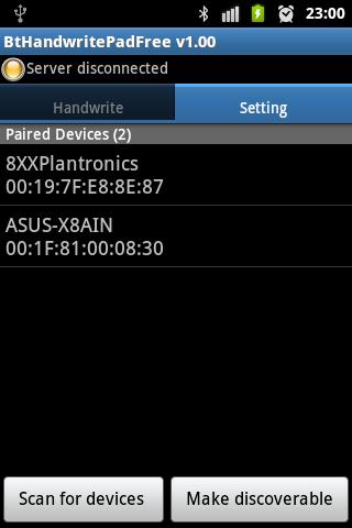 Bluetooth Handwrite Pad Free- screenshot
