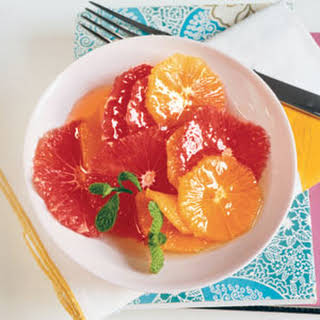 Citrus Salad with Honey and Mint.