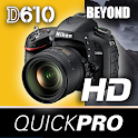 Nikon D610 Beyond QuickPro icon