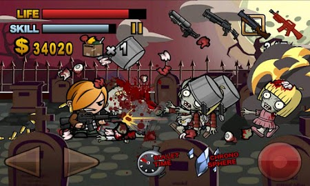 Biofrenzy: Frag The Zombies!! Screenshot 1