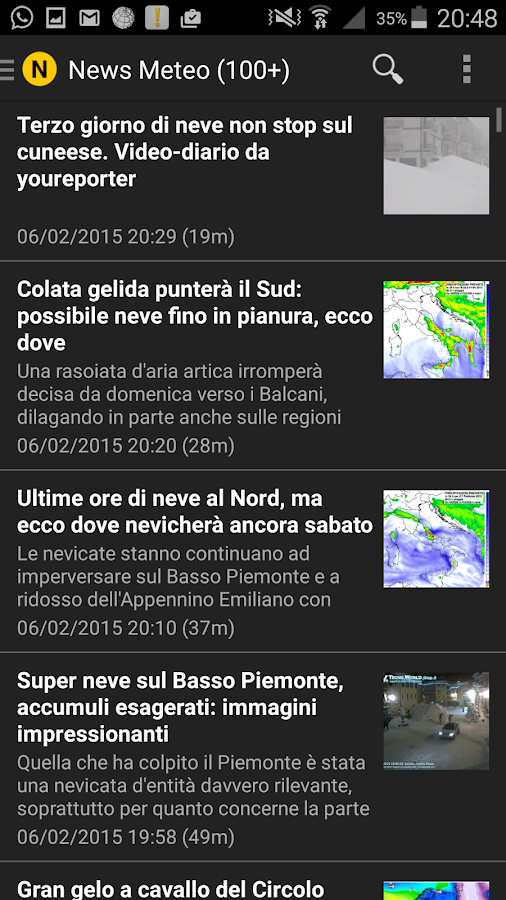 Cingolimeteo- screenshot