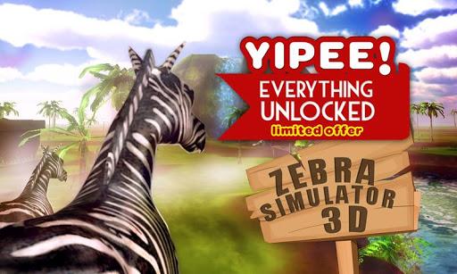 Zebra Simulator 3D Wildlife