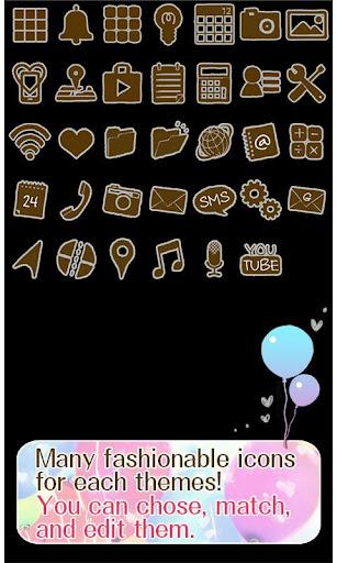Cute Theme-Balloons- 1.0 Windows u7528 4