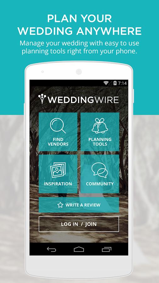 Wedding Planning App - screenshot