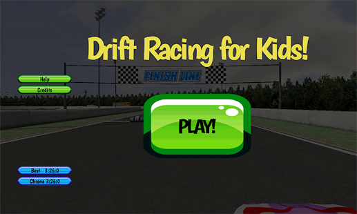 玩免費家庭片APP|下載Drift Racing FREE For Kids app不用錢|硬是要APP