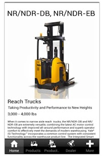 Yale Lift Trucks North America - screenshot thumbnail