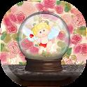 Crystal Ball Love lwp icon