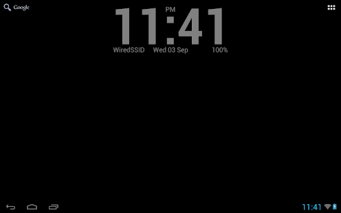 Simple Clock Live Wallpaper 5