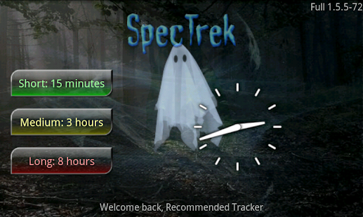 SpecTrek - screenshot thumbnail