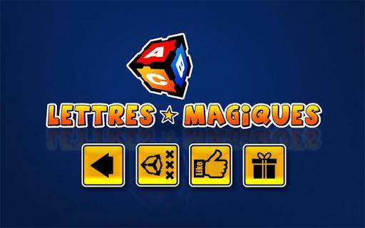 Lettres Magiques Français
