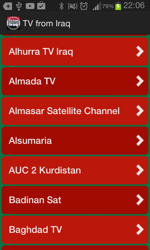 TV from Iraq- screenshot
