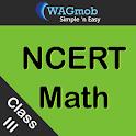 Class III NCERT Math by WAGmob icon