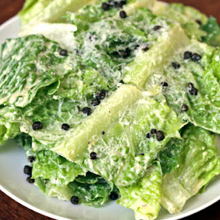 Roasted Caper Caesar Salad