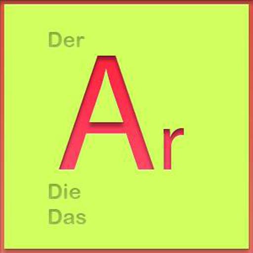 Deutsch Artikeltrainer LOGO-APP點子