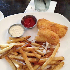 Lunch portion fish and chips