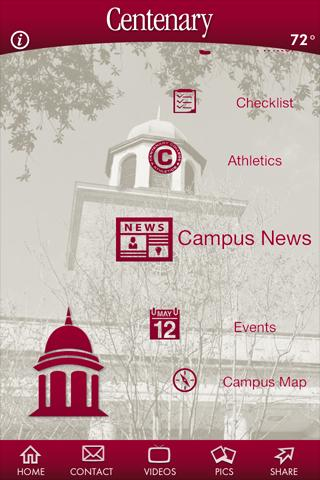 Centenary College of Louisiana - screenshot