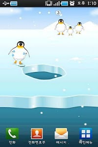 Penguin Live Wallpaper screenshot 2