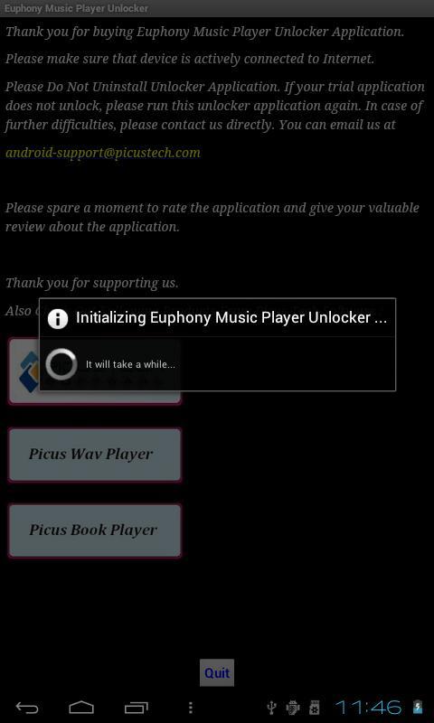Euphony Music Player Unlocker - screenshot