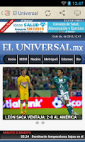 Screenshot of Prensa de México