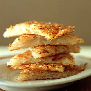 Grated Potato Pancakes.