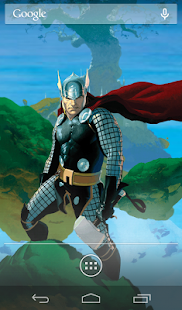 Marvel Heroes Live Wallpaper - screenshot thumbnail