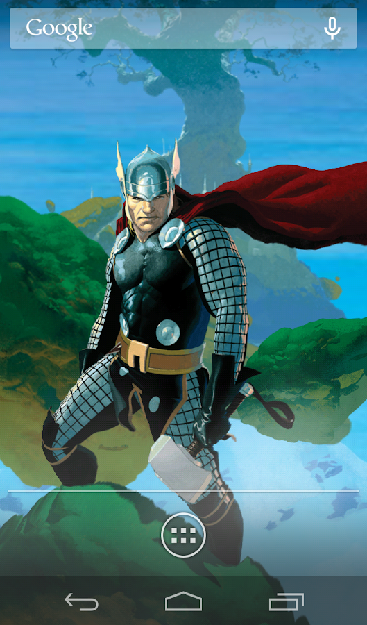 Marvel Heroes Live Wallpaper - screenshot