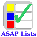 ASAP Lists logo