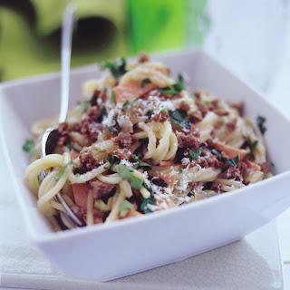 A tasty Vegetarian Spaghetti Carbonara