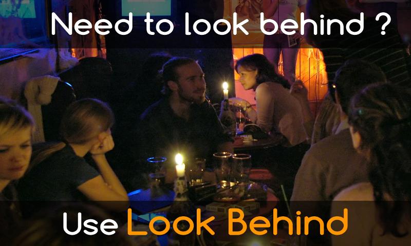 LookBehind for Android Wear screenshots