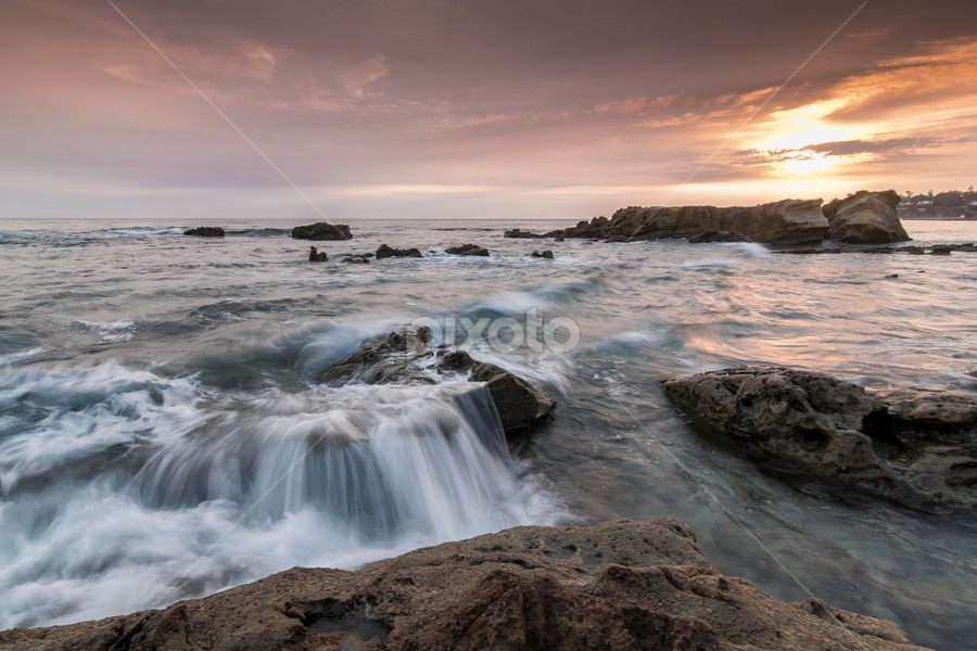 Milky Waves by Christian Capucci - Landscapes Waterscapes ( occean, waves, sunsets, seascapes, landscapes )