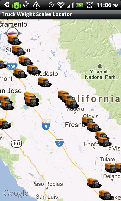 Truck Weight Scales Locator Android Apps On Google Play - Us weigh station map