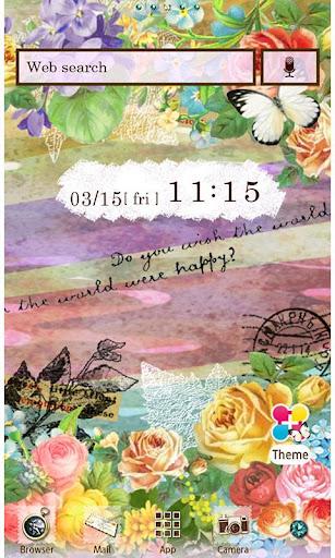 Pastel Flowers Wallpaper Theme 1.3 Windows u7528 1