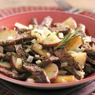 Skillet Beef and Potatoes.