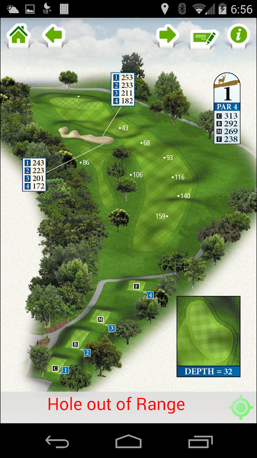 Landa Park Golf Course- screenshot
