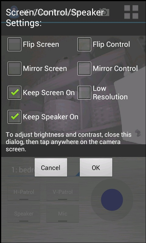 IP Cam Remote with Audio - screenshot