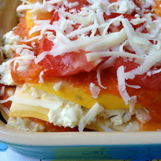 Pasta-Free Summer Lasagna.