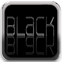 Black 4 Facebook logo