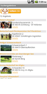reiten.de- screenshot thumbnail