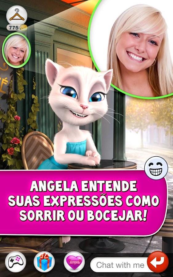 Talking Angela - screenshot