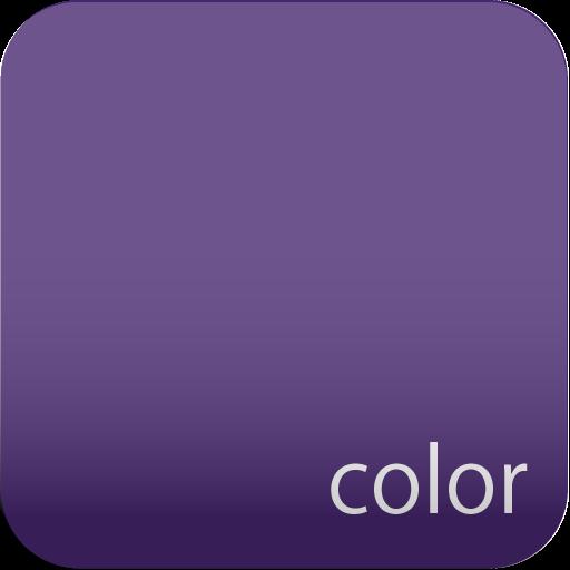 ディープロイアルパープルカラー♪壁紙【アンドロイド壁紙】 個人化 App LOGO-硬是要APP