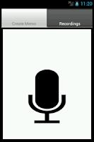 Screenshot of Ultimate Voice Recorder memo