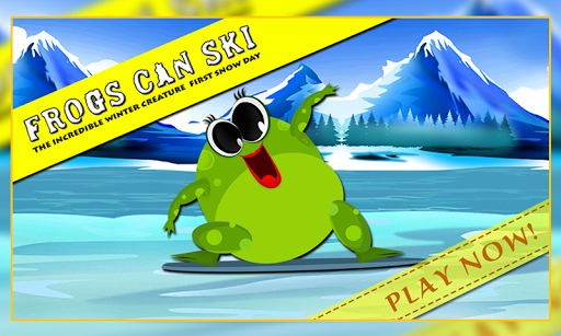 Frogs Can Ski : The Snow Day +