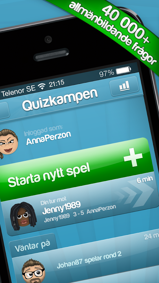 Quizkampen PREMIUM - screenshot