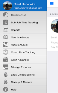 iTimePunch - Work Time Clock- screenshot thumbnail