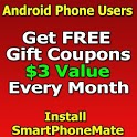 SPMate Get FREE $3 Coupons /mo icon