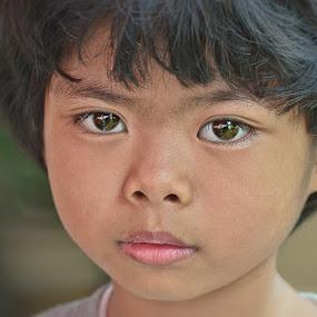 School day face by Izhar  Hj.Ishak - Babies & Children Child Portraits
