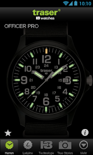 traser® H3 – Swiss made watch - screenshot thumbnail