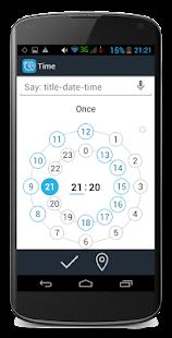 Time and Place reminder + todo- screenshot thumbnail